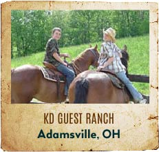 KD Guest Ranch - Adamsville, Ohio
