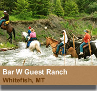 Bar W Guest Ranch - Whitefish, Montana