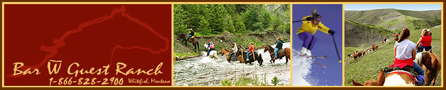 Visit Bar W Guest Ranch - Whitefish, Montana today!