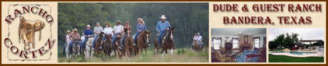 Visit Rancho Cortez in Bandera, Texas today!