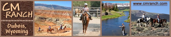 Visit CM Ranch in Dubois, Wyoming today!