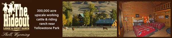 The Hideout Ranch & Lodge in Shell Wyoming
