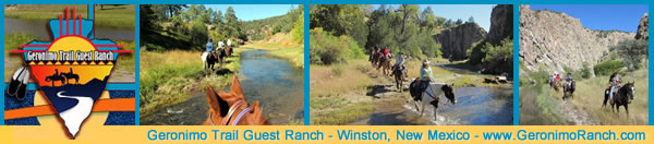 Visit Geronimo Trail Guest Ranch near Winston, New Mexico!
