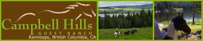 Visit Campbell Hills Guest Ranch in BC, Canada Today!