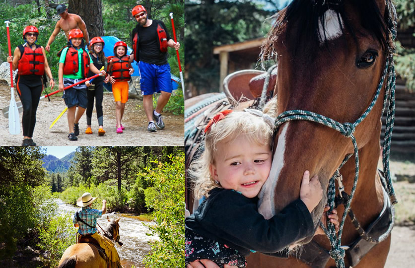 Activities at Cherokee Park Ranch in Livermore, Colorado