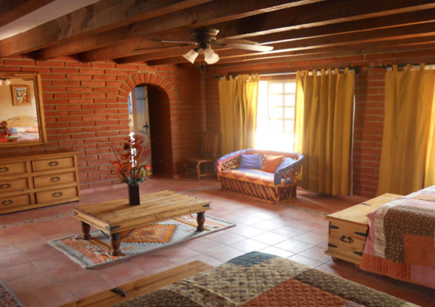Lovley rooms at San Jose Ranch in Mexico