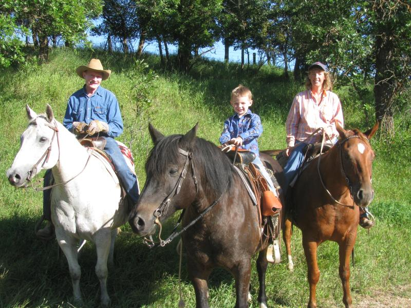 Horseback riding in the Black Hills of Wyoming with Diamond 7 Bar Guest Ranch