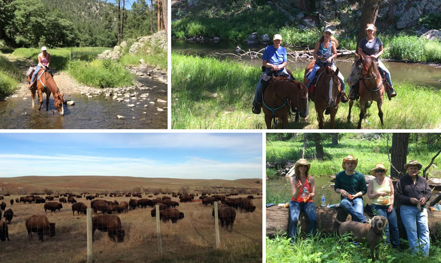 Activities at Ghost Canyon Ranch in South Dakota