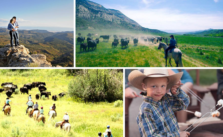 Activities at The High Lonesome Ranch in DeBeque, Colorado