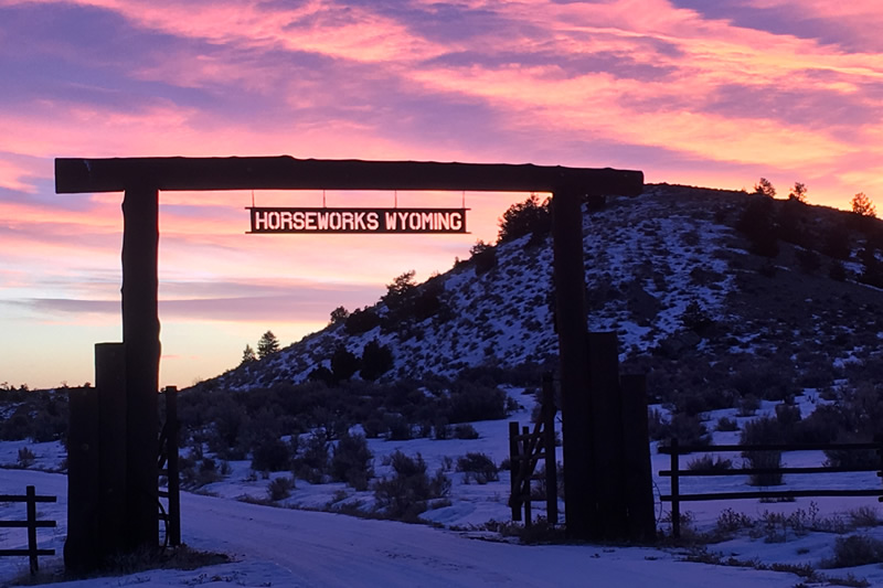 HorseWorks - Wyoming is a beautiful location for learning all you can about horsemanship!