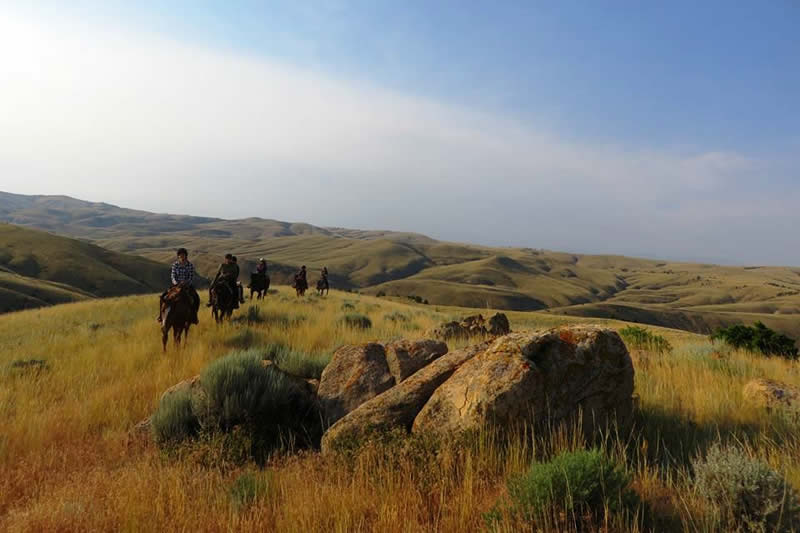 HorseWorks - Wyoming has amazing land to ride and enjoy the outdoors.