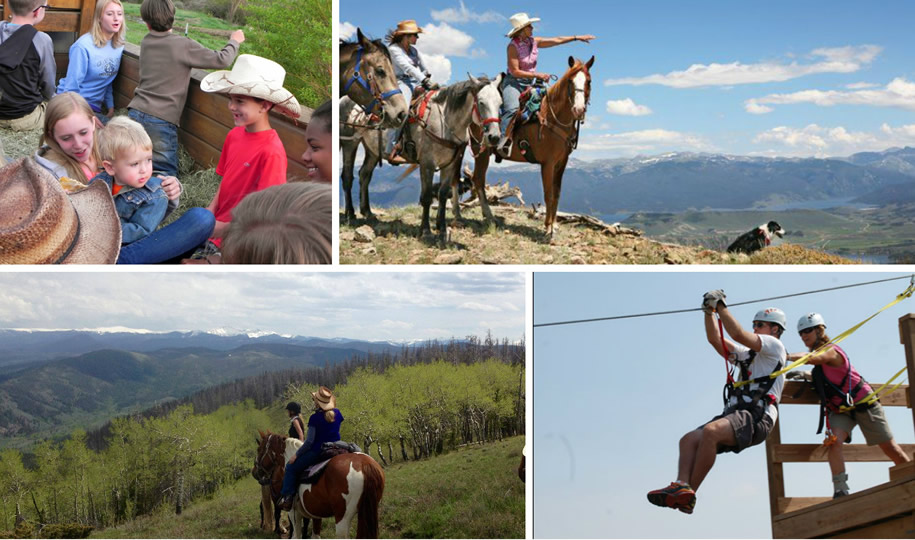 Activities at Drowsy Water Ranch in Granby, Colorado