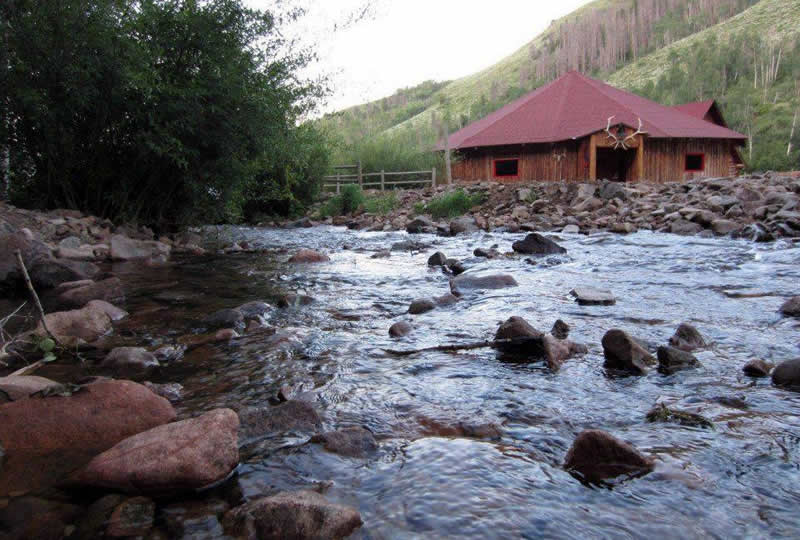 Fishing at Drowsy Water Ranch in Granby, Colorado