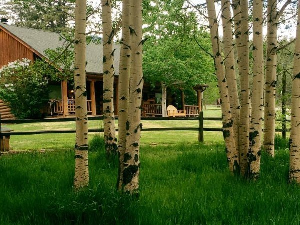 Lodging at the North Fork Ranch in Shawnee, Colorado!