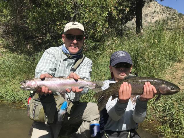 Fly Fishing at Upper Canyon Outfitters in Alder, Montana.