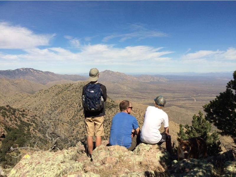 Hiking in the Arizona Sonoran Desert with Elkhorn Ranch