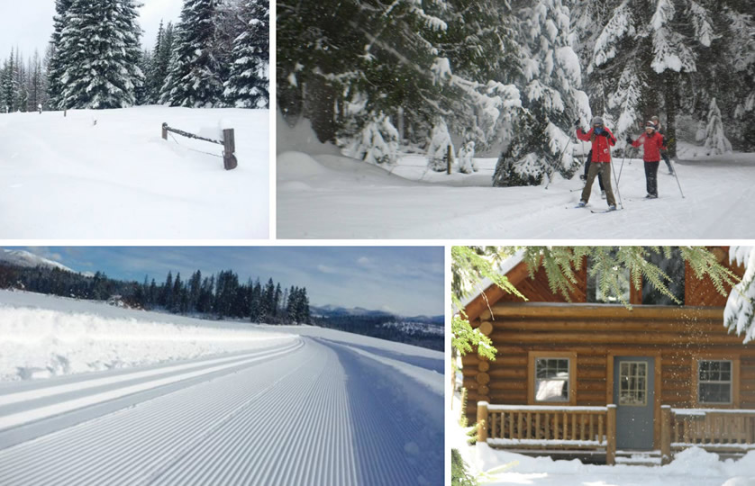 Ski Weekend at Western Pleasure Guest Ranch in Idaho