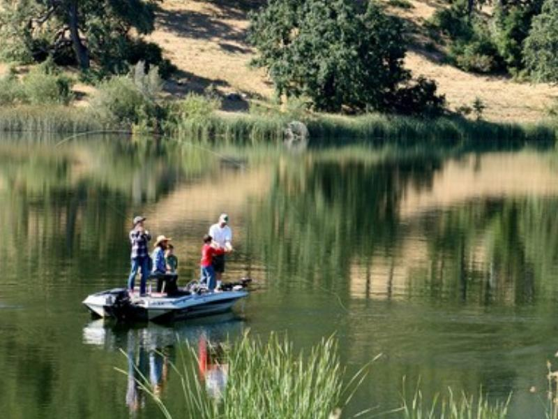 Fishing at California Alisal Guest Ranch and Resort