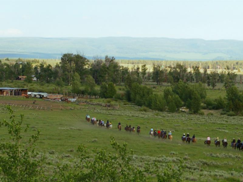 Come to Parade Rest Guest Ranch for the horseback riding in the beautiful Montana mountains