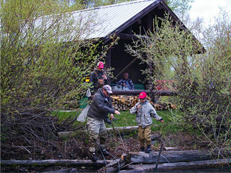 Come to Parade Rest Guest Ranch for the fishing just outside your door in the beautiful Montana mountains