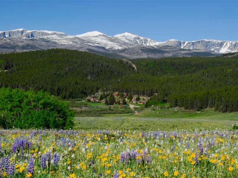 Paradise Guest Ranch in Big Horn National Forest of Wyoming