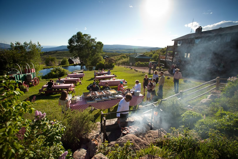 Cookout at Black Mountain Ranch in McCoy, Colorado