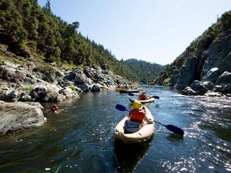 White water rafting and kayaking with Californias Marble Mountain Ranch