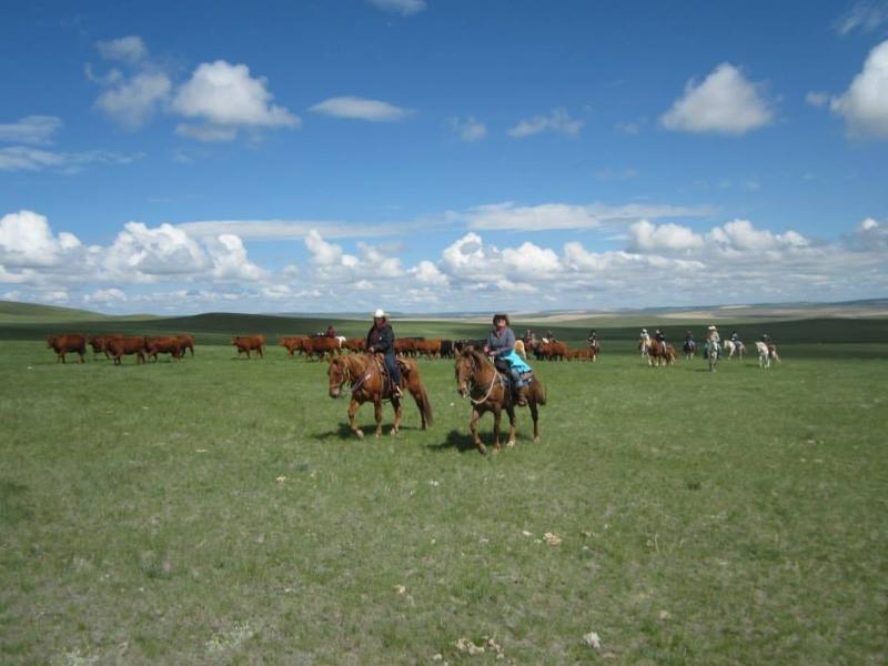 Horseback riding at Bar W Guest Ranch in Montana