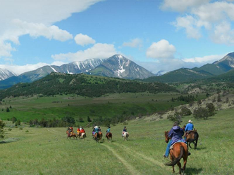 Sweet Grass Ranch a working cattle ranch secluded in the Crazy Mountains of southcentral Montana