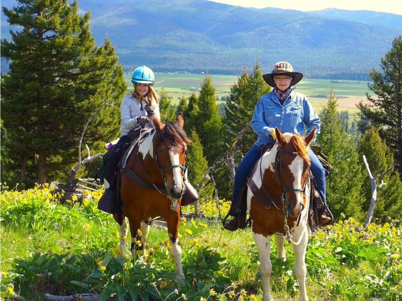 Rich Ranch Outfitting and Guest Ranch horseback riding with 4th generation Montana pioneers.