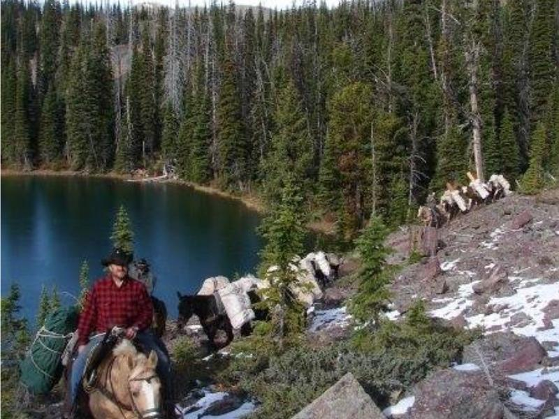 Wilderness pack trips into the mountains of Montana with Rich Ranch Outfitting & Guest Ranch