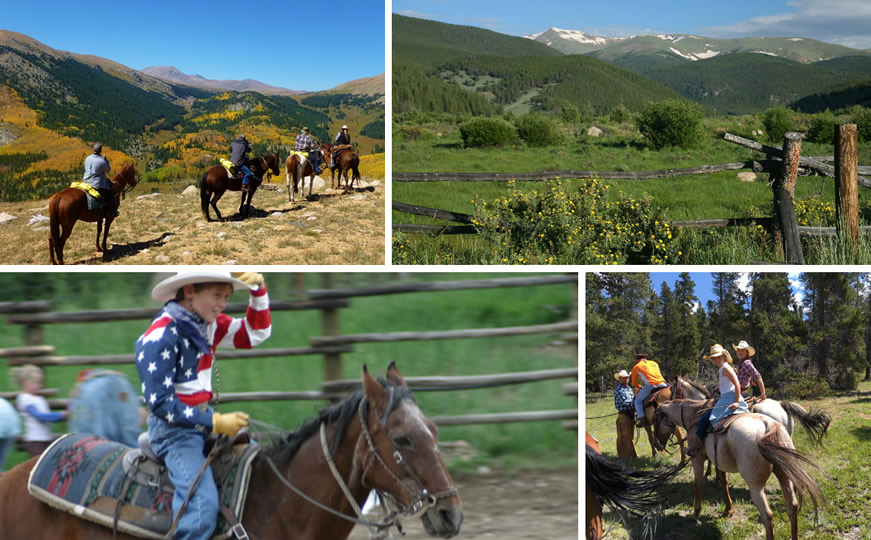 Activities at Tumbling River Ranch in Grant, Colorado