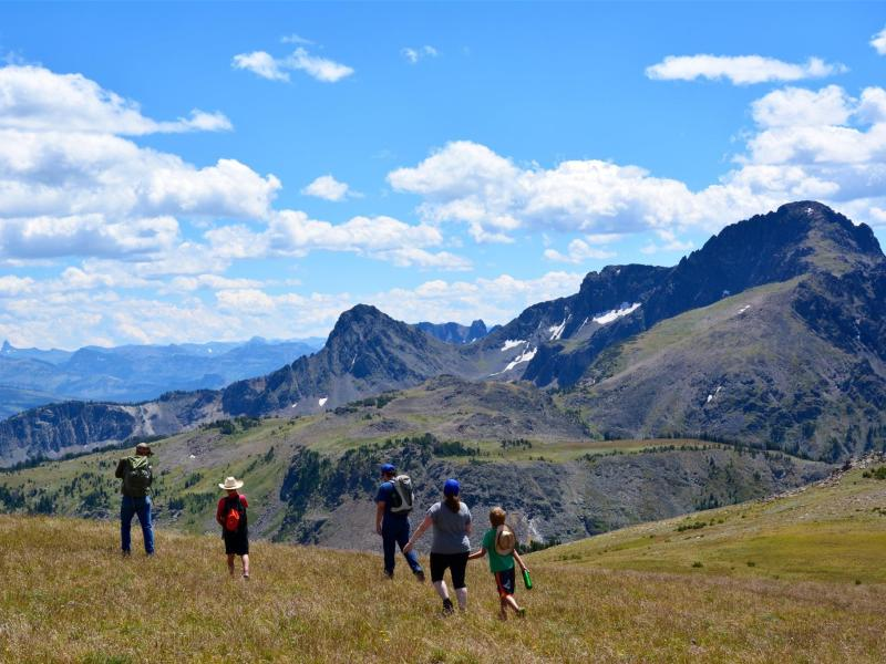 Go hiking at Montana's beautiful Hawley Mountain Ranch