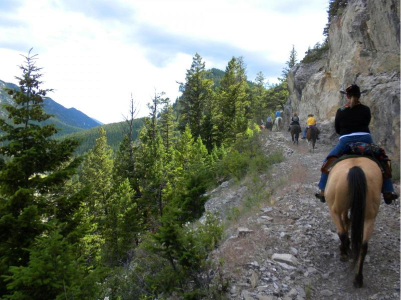 JJJ Wilderness Ranch is locate on Montana's majestic Rocky Mountain Front specializes in dude ranch vacations with horseback riding, trout fishing, hiking and gracious western hospitality