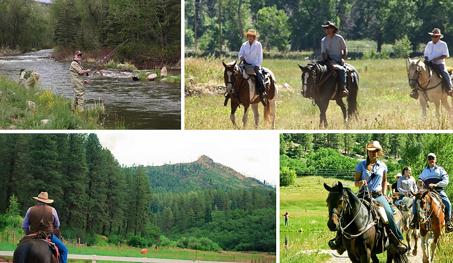 Activities at Colorado Trails Ranch in Durango, Colorado