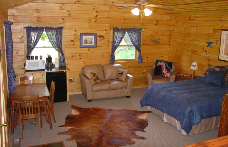 Lodging at KD Guest Ranch in Ohio
