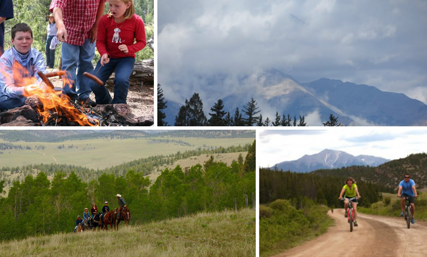 Activities at Elk Mountain Ranch in Buena Vista, Colorado
