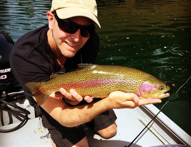Fly-fishing at Californias Greenhorn Creek Guest Ranch