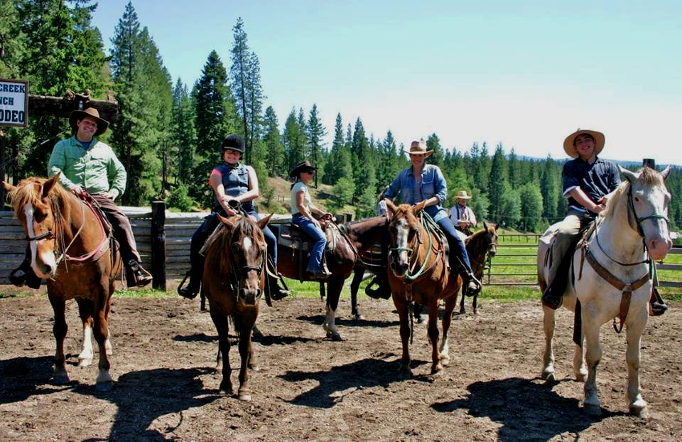 Horseback Riding at Californias Greenhorn Creek Guest Ranch