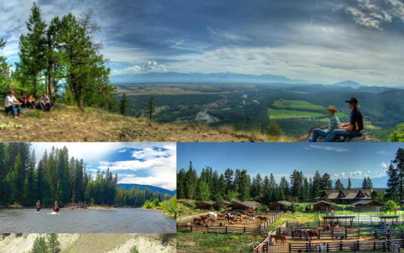 Activities at Three Bars Cattle & Guest Ranch in Cranbrook, British Columbia, Canada