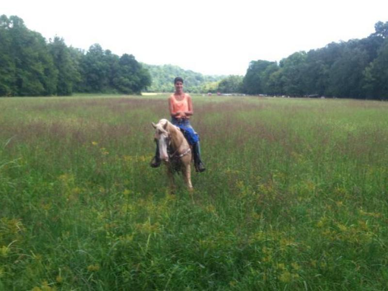 Horseback riding at Virginian Shangrila Guest Ranch