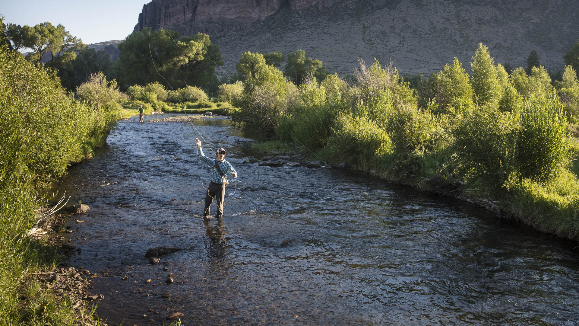 Fishing at 4UR Ranch in Creede, Colorado
