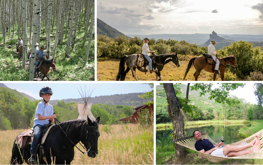 Activities at Smith Fork Ranch in Crawford, Colorado