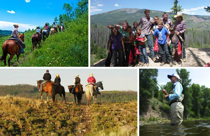 Activities at Vista Verde Ranch in Steamboat Springs, Colorado