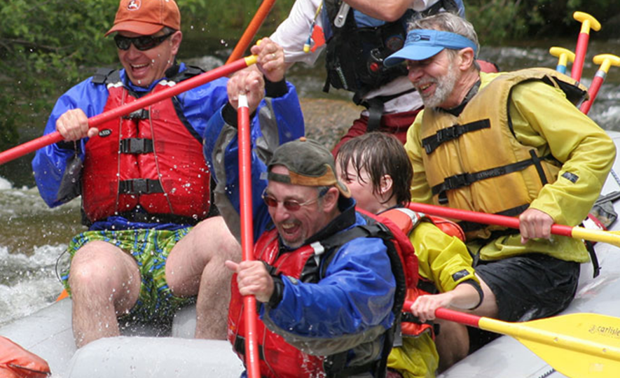 Rafting at Harmel's Ranch Resort & Spa in Almont, Colorado