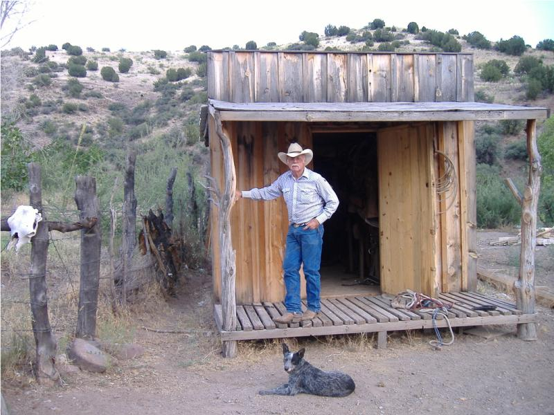 Horseback riding at Cold Creek Ranch, a working cattle ranch in Arizona