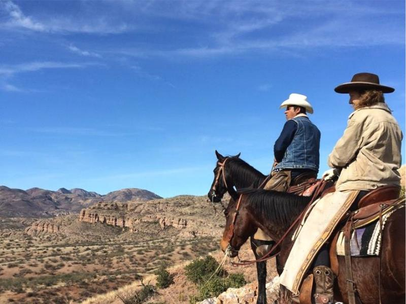 Horseback riding in Arizona with Rancho Los Banos