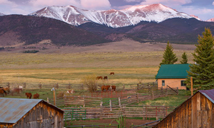 Lodge at Music Meadows Ranch in Westcliffe, Colorado