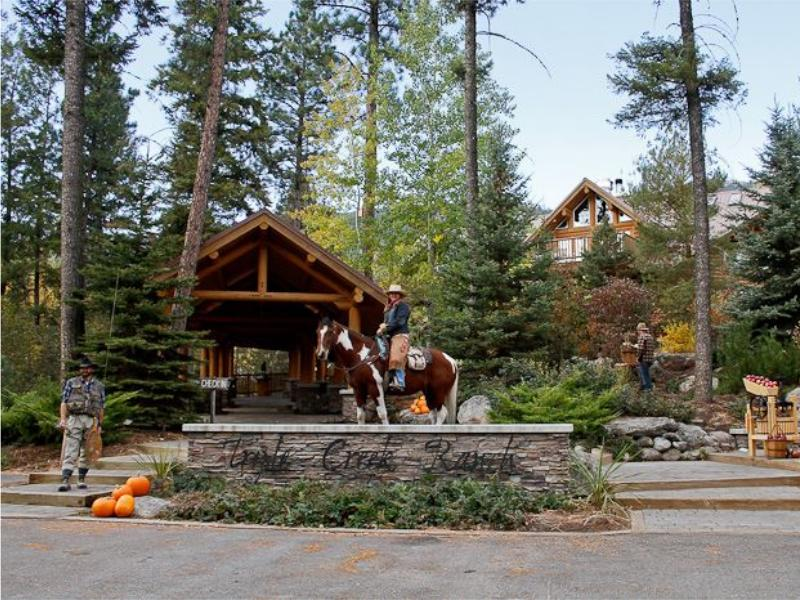 Triple Creek Ranch an award-winning luxury guest ranch high in the Bitterroot Mountains of the Montana Rockies